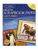 Geographics Digital Scrapbook Paper 22cm . x 28cm .