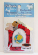 Pet Parade Handpainted Dog Charms - Dog House
