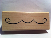 Scroll Border Rubber Stamp