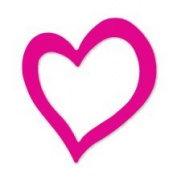 Sizzix Originals Double Heart Die with steel-rule