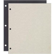 Genuine Raika 3-ring scrapbook refill pages - 8.5x11