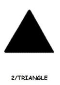 Punch Bunch Medium Punch, Triangle