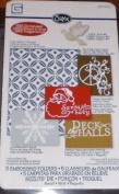 Sizzix Embossing Folders- Santa Baby Set #657305