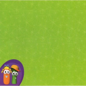 Veggie Tales Friends 30cm x 30cm Scrapbook Paper - Set of 2 Sheets