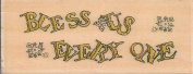 Bless Us Every One Boyds Collection Wood Mounted Rubber Stamp