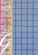 Creative Paper Squares Glitter Cards for Card Making, 215gm, A-4 Size, Blue