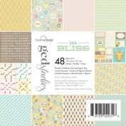 GCD Studios Pure Bliss by Heather Tozzi Paper Pad, 48 Sheets