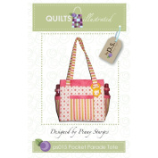 Quiltsillustrated Pocket Parade Tote QI-015