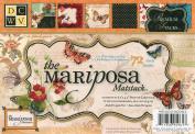 DCWV MS-003-00053 4-1/2 by 6-1/2 Mariposa GLTR & Foil Matstack