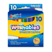 LIQUI-MARK Bold Washable Marker, Box of 10