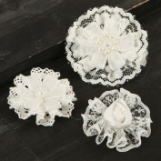 Prima - Tessitura Collection - Fabric Flower Embellishments - Mix 3