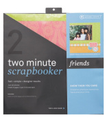 Two Minute Scrapbooker 30cm x 12 Inch Page Kit - Friends