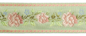 Dove of the East Peredelkino Brocade Ribbon for Scrapbooking, 1-Yard