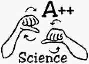 A++Science Rubber Stamp