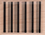 Stripes in a Row Background Wood Mounted Rubber Stamp