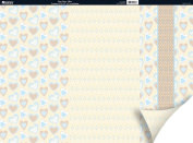 Kanban Crafts Patchwork 12x12 Double-Sided Cardstock Sheet Plus 5-Pack