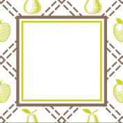 Three Designing Women Designer Gift Tags, Green Cook Collection