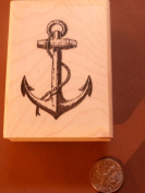 Anchor rubber stamp P23