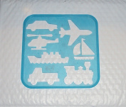 Kitchenware Stencil Art Replacement Transportation Shapes #1942