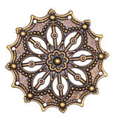 Dove of the East 3-Piece Flower Star for Scrapbooking