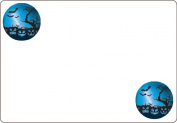 Ace Label 7108AL Halloween Pumpkin Adhesive Name Badge, 20 Sheets Per Pack