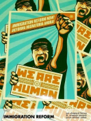 We Are Human/Man - Immigration Reform Now! Sticker Pack