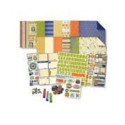 Deja Views - Travel Collection - 12 x 12 Album Kit