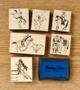 Western/Rodeo Stamp Set