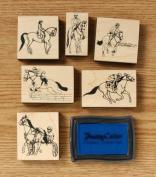 English/Racing Stamp Set