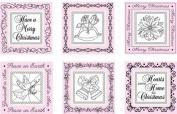JustRite Hearts Come Home stamp set ~5.1cm square