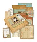 K & Company Ancestry.com Scrap Kit, 30cm -by-30cm , Family Tree