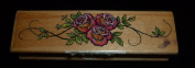 Three Roses Rubber Stamp
