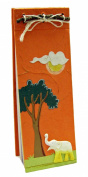 Mr. Ellie Pooh Elephant Dung Paper List Pad, Orange