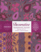 Decorative Paper Pack from India- Purple Pink & Copper