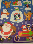 Christmas Reusable Window Clings ~ North Pole Festive Fun