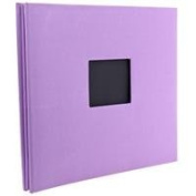 Kleer-Vu Fabric Scrapbook, PostBound with Window, Size