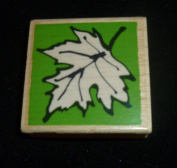 Leaf Rubber Stamp