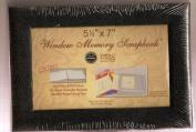 NCL 14cm x 18cm Window Memory Scrapboook - Black