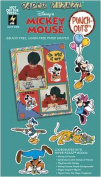 Disney Mickey Mouse Minnie Goofy Donald Duck Daisy Pluto 88 Punch-out Paper Shapes for Scrapbooking