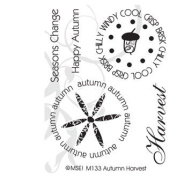 Autumn Harvest Clear Unmounted Rubber Stamp Set