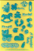 Clearly Heritage Exchangeable Clear Stamps - Baby