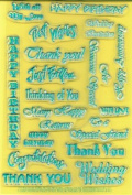 Clearly Heritage Exchangeable Clear Stamps - Expressions