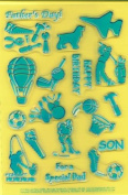 Clearly Heritage Exchangeable Clear Stamps - Boys & Toys
