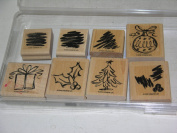 Stampin Up season's Sketches Rubber Stamp Set