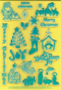 Clearly Heritage Exchangeable Clear Stamps - Christmas
