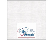 Paper Accents Extra Heavy Chipboard White 20cm x 20cm 25 sheets