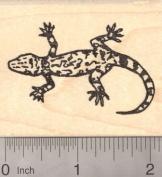 Gecko Lizard Rubber Stamp