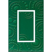 Provo Craft Cuttlebug Plus A2 Embossing Folder, Cogs and Wheels