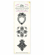 Something Tattered Frieze Wallpaper Stamp Set, 20cm by 7.6cm