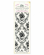 Something Tattered Parlour Wallpaper Background Stamp, 20cm by 7.6cm